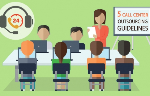 Top 5 Call Center Outsourcing Guidelines