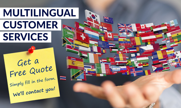 Top 4 Benefits of Multilingual Customer Services